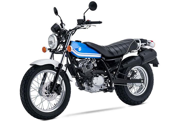 d&m corfu moto rental - suzuki van van 125